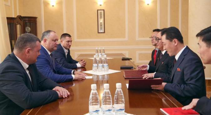 Moldova to export wines to North Korea, increase bilateral ties