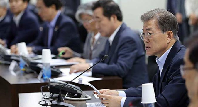 Seoul will increase military spending to 2.9 percent of GDP: Moon