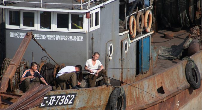 north korea fishing photo