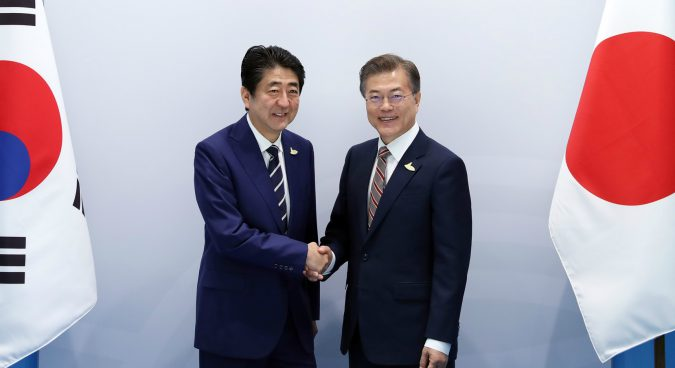 Abe, Moon to push for new UNSC sanctions resolution against North Korea