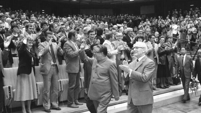 When Kim Il Sung died in 1986