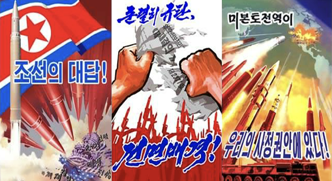 New DPRK posters show North Korean ripping up new UNSC resolution