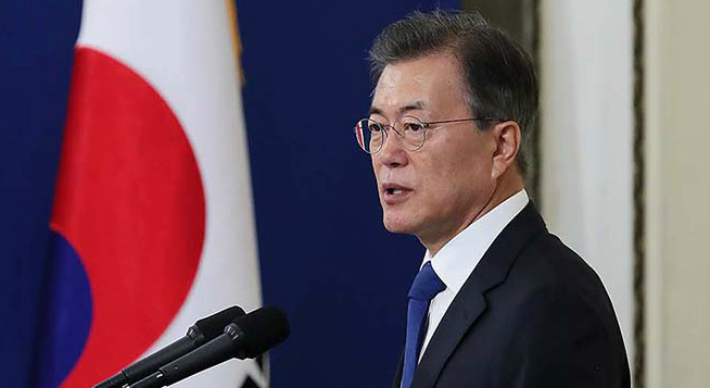 Military action against N. Korea impossible without consent from Seoul: Moon