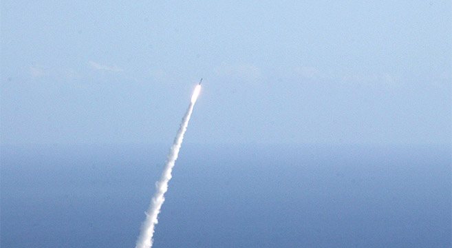 North Korea fires missile over Japanese airspace