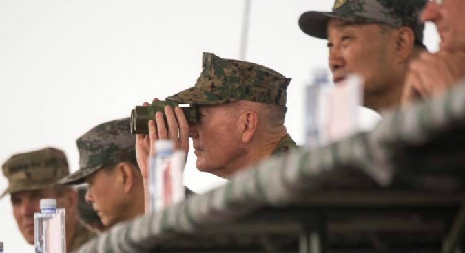 "Military options on North Korea ""horrible"" but necessary: U.S. JCS chief"