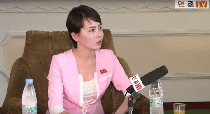 Former defector TV star reappears on North Korean outlet