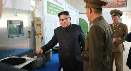 Kim Jong Un orders scientists to produce more ICBM engines, warhead tips