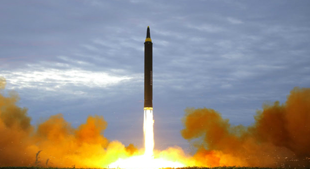 Kim Jong Un oversaw Hwasong-12 launch on Tuesday: KCNA
