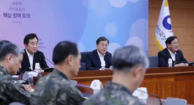 "Moon says Seoul will take offensive operations if North Korea ""crosses the line"""