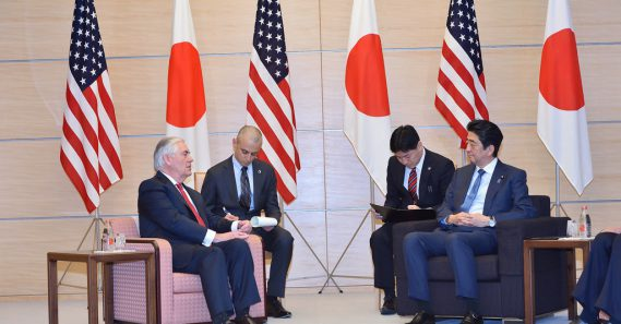 Pressure, not dialogue needed on North Korea: Abe