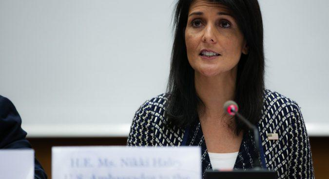 Sanctions won't necessarily work on North Korea: Haley