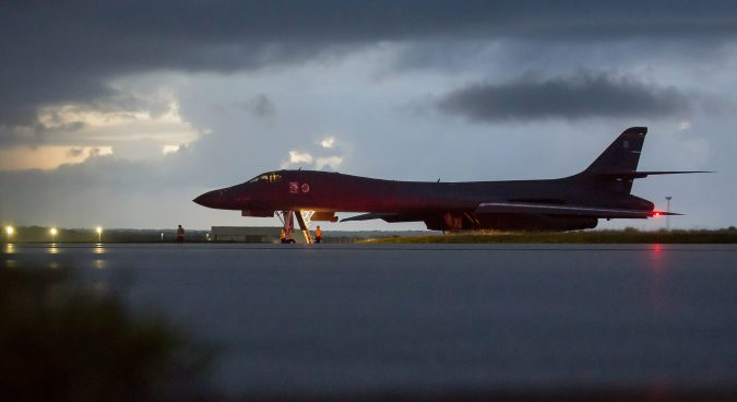 North Korea did not respond to U.S. bomber flight on Saturday: NIS