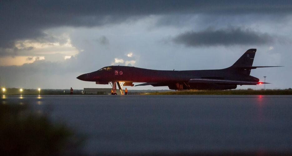 North Korea did not respond to U.S. bomber flight on Saturday: NIS