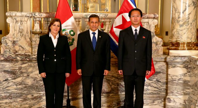 Peru to expel North Korean ambassador