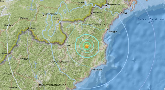 Second quake near North Korean test site could be tunnel collapse