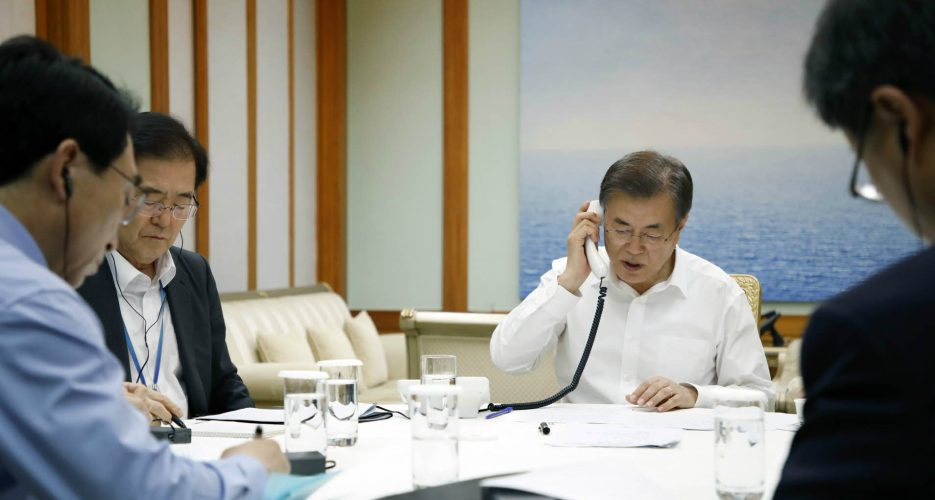Seoul should refrain from action that undermines pressure on N. Korea: Japan
