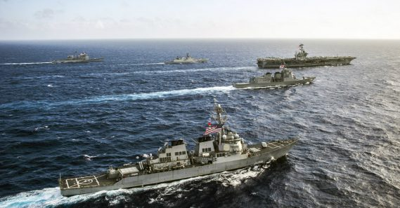 U.S., South Korea, Japan staging missile warning exercises near Korean peninsula