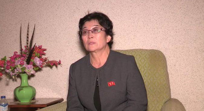 "Former defector back in North Korea describes ""painful"" life in the South"