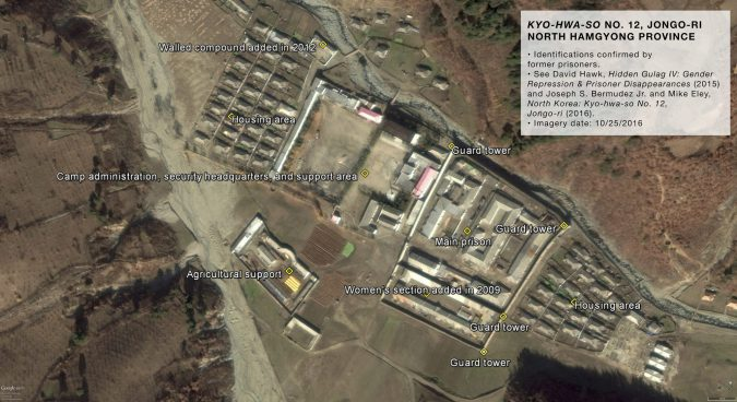 "North Korea's ""parallel gulags,"" seen from above"