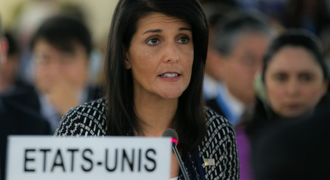Member states must end all N. Korean trade, crude oil transfers, Haley tells UN