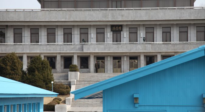 North Korean soldier defects to the South at Joint Security Area: JCS