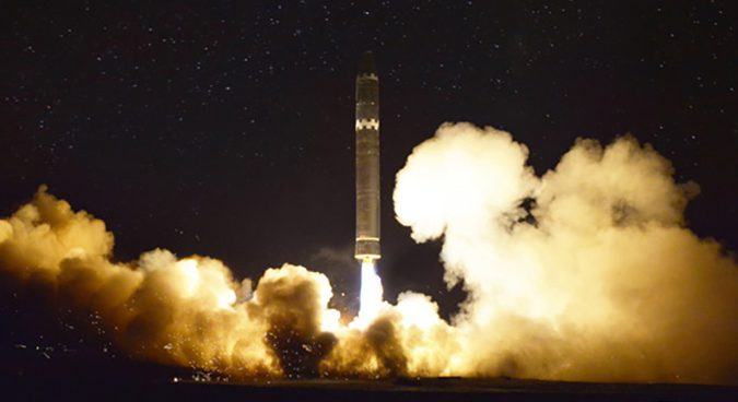 North Korea releases photographs of new Hwasong-15 ICBM