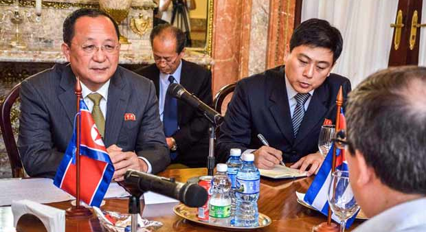 "DPRK, Cuban foreign ministers ""rejected"" N. Korea's SSOT relisting"