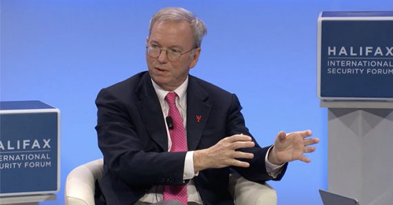 Sanctions prevent Google from North Korea operations: Eric Schmidt