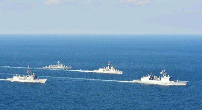 U.S., ROK, Australian navies conduct joint WMD-interdiction exercises