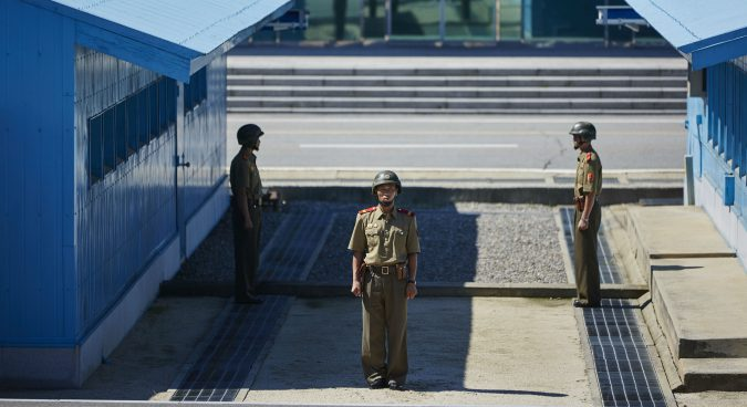 North Korean troops fired an estimated 40 shots at defecting soldier: JCS