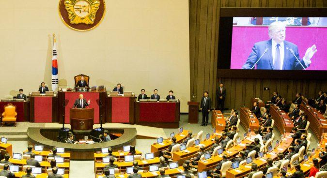 "Trump's National Assembly speech a ""declaration of war"": North Korean media"
