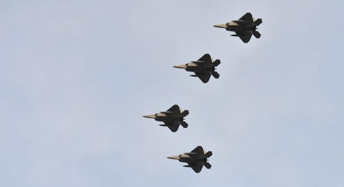 South Korea, U.S. kick off major air combat drill
