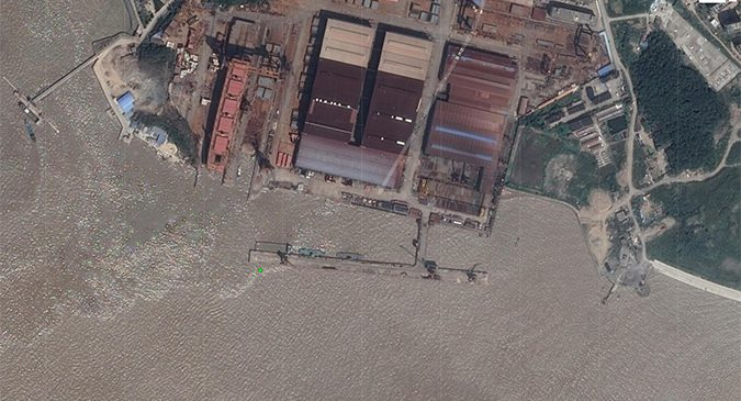 UN sanctioned North Korea linked ship arrives in China