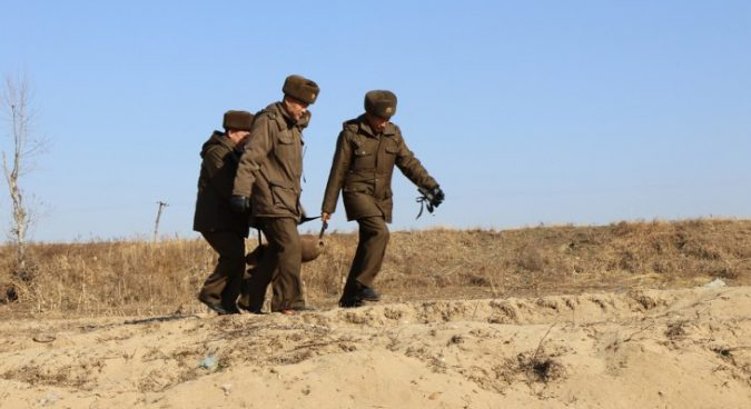 Capacity building and bomb disposal in North Korea