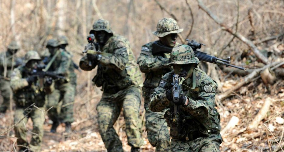 South Korea to increase military spending by 7 percent in 2018