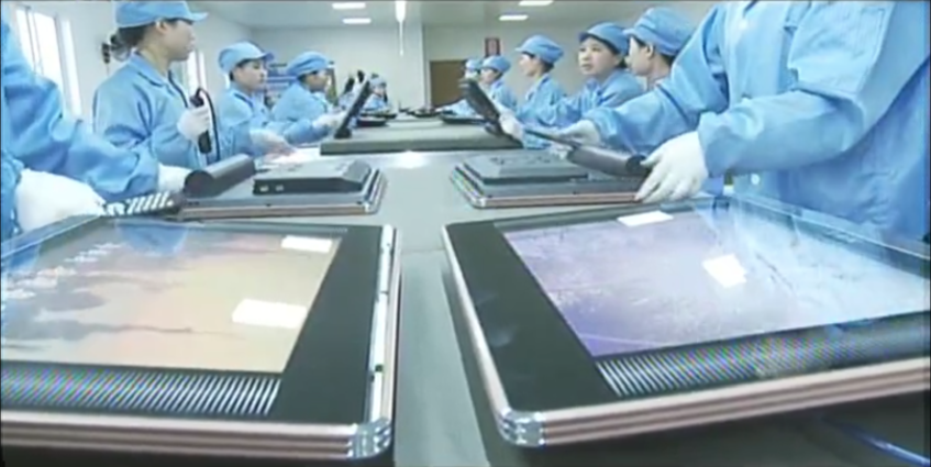 North Korea domestically producing new TVs, curved LCD screens: KCTV