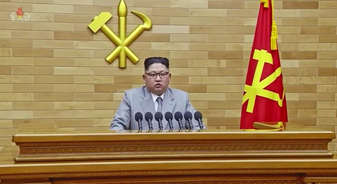 Kim Jong Un sends nuclear warning to U.S., but overture to South Korea