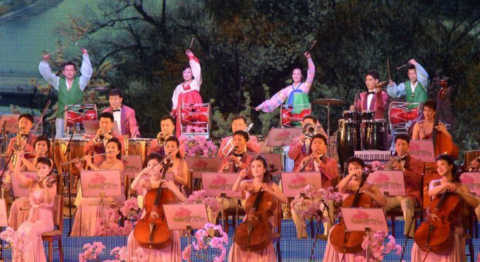 North Korea to send 140-member orchestra to PyeongChang Olympics