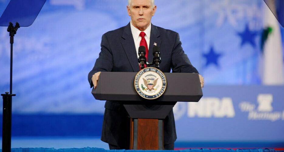 """No daylight"" between Washington and Seoul: Pence"