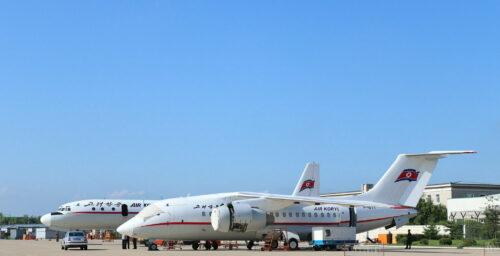 Amid increased sanctions, Air Koryo flights decreased by 22% in 2017: data