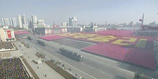 North Korea holds major military parade in Pyongyang, showcases multiple ICBMs