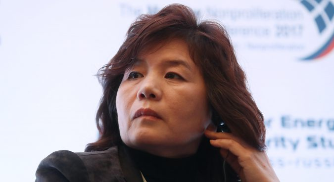Choe Son Hui promoted to vice-minister at DPRK foreign ministry: sources