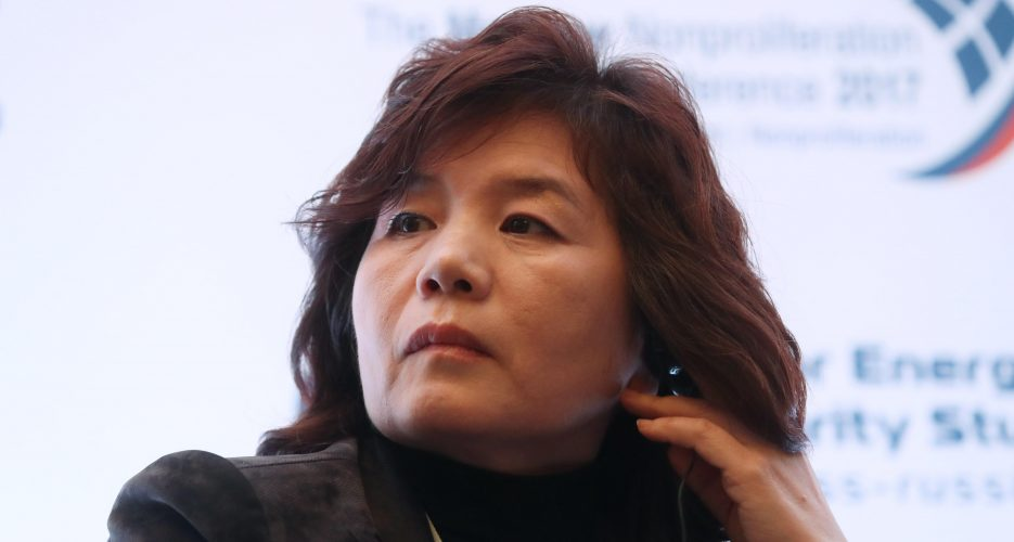 ChoeSon Hui promoted to vice-minister at DPRK foreign ministry: sources