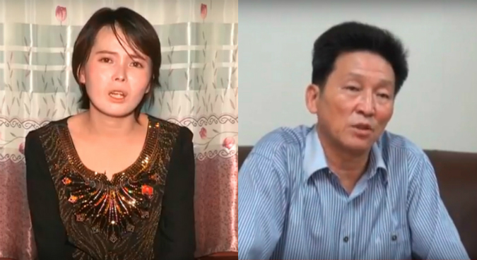 Jon Hye Song, South Korean detainee condemn defectors in state media footage