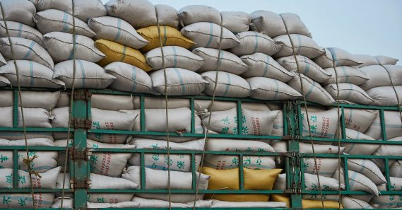 Defector charged with sending rice to North Korean secret police