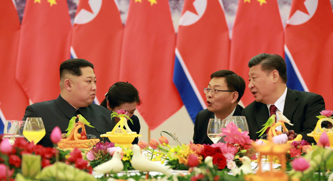 Chinese state media confirms Kim Jong Un, Xi Jinping meeting in Beijing