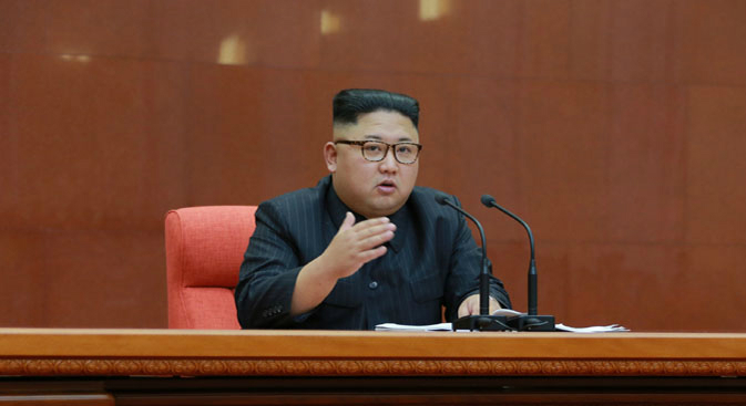 South Korean delegation meets with Kim Jong Un in Pyongyang