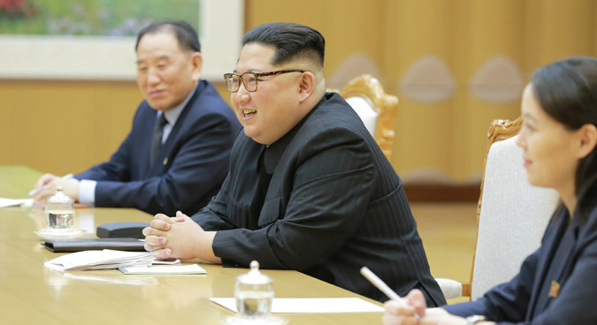 "North Korea expressed ""will"" to denuclearize if security guaranteed: Seoul"