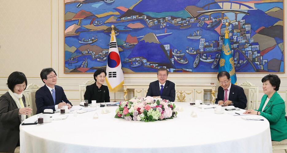 North Korea has met conditions for preliminary talks with U.S.: Moon