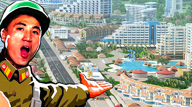 North Korea's new east coast tourist resort: who is it really being built for?